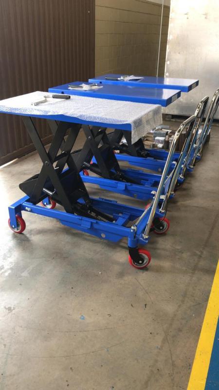 Fábrica de carrinhos de transporte