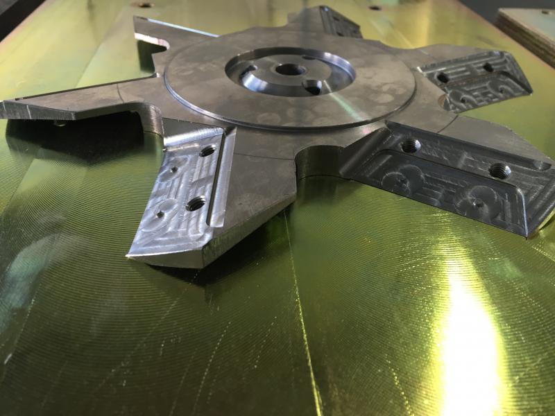 Usinagem peças precisão